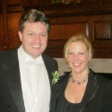 Tenor Anthony Kearns and Kirsten after 2009 concert in Woodbridge, VA