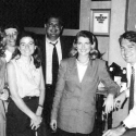 With Spence Abraham and NRCC staff in 1992