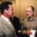 Arnold speaks with Washington Post Reporter Dan Balz