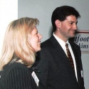Kirsten with Mark Halperin of Time Magazine