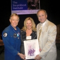 Air Force Gen. Steve Ritchie and author Michael Reagan with Kirsten at 2009 Steamboat Institute conference